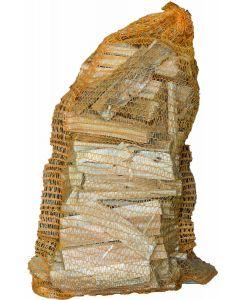 Anbrennholz geschichtet