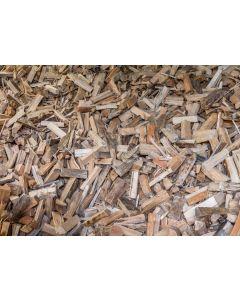 Loses Mischbrennholz trocken